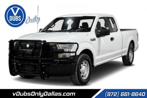 2017 Ford F-150 for sale at VDUBS ONLY in Dallas TX