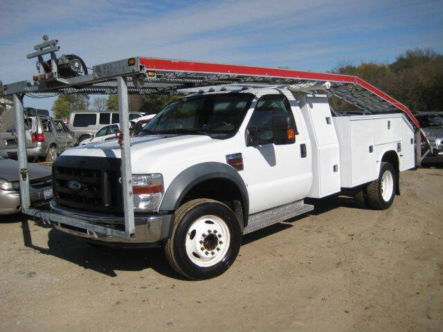2008 Ford F-550 Super Duty for sale at CARZ R US 1 in Armington IL