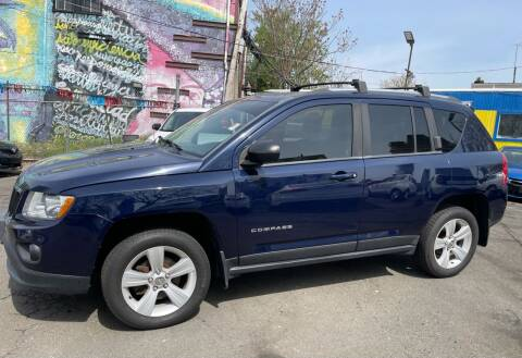 2013 Jeep Compass for sale at JOANKA AUTO SALES in Newark NJ