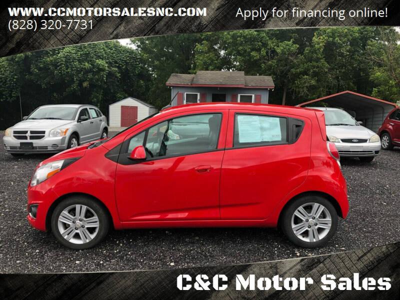 2014 Chevrolet Spark for sale at C&C Motor Sales LLC in Hudson NC
