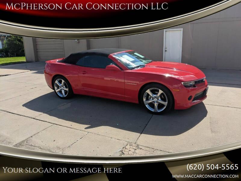 2014 Chevrolet Camaro for sale at McPherson Car Connection LLC in Mcpherson KS