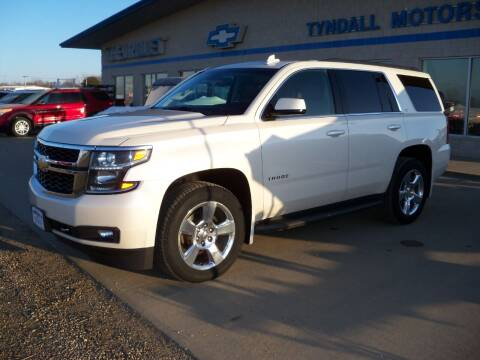 2015 Chevrolet Tahoe for sale at Tyndall Motors in Tyndall SD