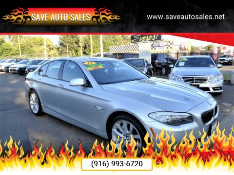 2011 BMW 5 Series for sale at Save Auto Sales in Sacramento CA