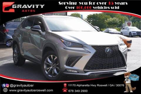 2020 Lexus NX 300 for sale at Gravity Autos Roswell in Roswell GA