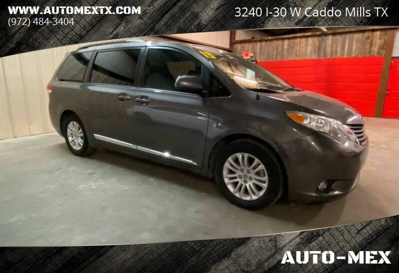 2013 Toyota Sienna for sale at AUTO-MEX in Caddo Mills TX