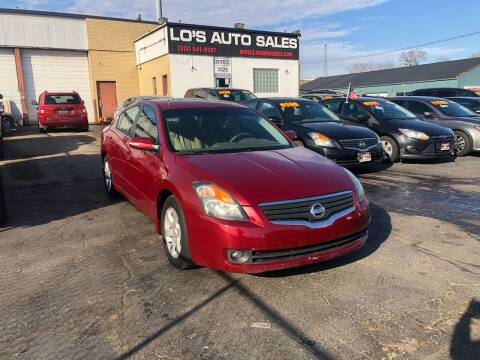 2007 Nissan Altima for sale at Lo's Auto Sales in Cincinnati OH