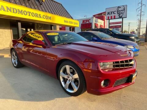 2010 Chevrolet Camaro for sale at Tigerland Motors in Sedalia MO