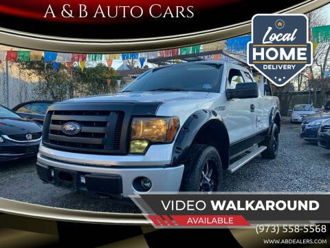 2010 Ford F-150 for sale at A & B Auto Cars in Newark NJ