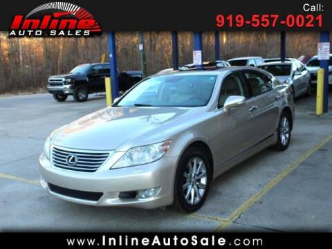 2010 Lexus LS 460 for sale at Inline Auto Sales in Fuquay Varina NC