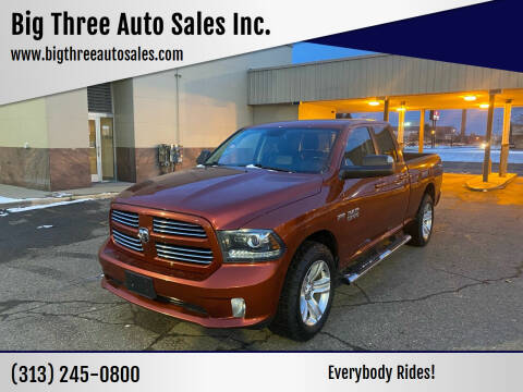 2013 RAM Ram Pickup 1500 for sale at Big Three Auto Sales Inc. in Detroit MI