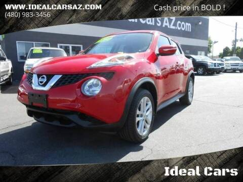 2015 Nissan JUKE for sale at Ideal Cars Apache Trail in Apache Junction AZ