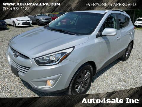 2014 Hyundai Tucson for sale at Auto4sale Inc in Mount Pocono PA