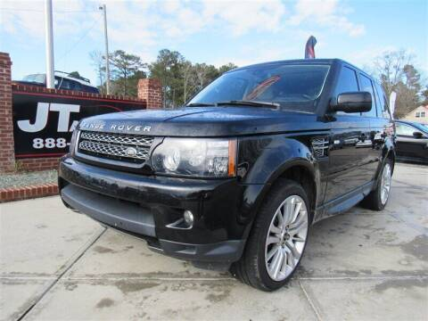 2012 Land Rover Range Rover Sport for sale at J T Auto Group in Sanford NC