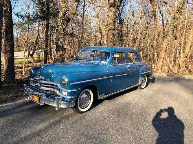 1949 Chrysler Windsor for sale at Classic Car Deals in Cadillac MI