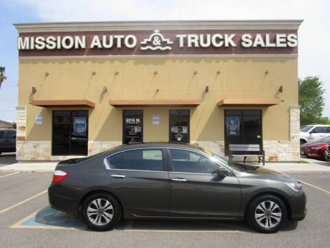 2013 Honda Accord for sale at Mission Auto & Truck Sales, Inc. in Mission TX