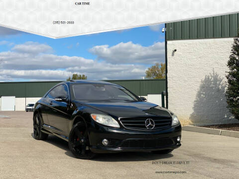 2008 Mercedes-Benz CL-Class for sale at Car Time in Philadelphia PA