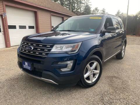 2016 Ford Explorer for sale at Hornes Auto Sales LLC in Epping NH