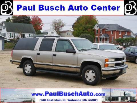 1999 Chevrolet Suburban for sale at Paul Busch Auto Center Inc in Wabasha MN