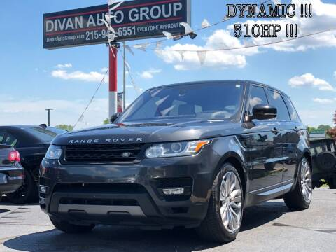 2016 Land Rover Range Rover Sport for sale at Divan Auto Group in Feasterville PA