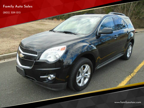 2013 Chevrolet Equinox for sale at Family Auto Sales in Rock Hill SC