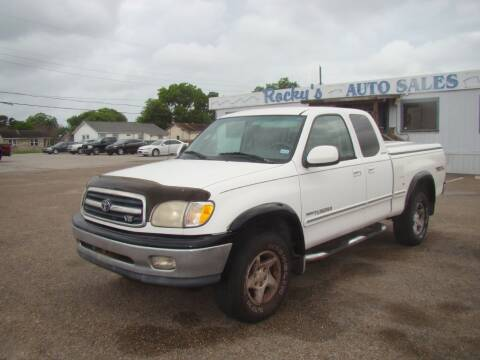 2001 Toyota Tundra for sale at Rocky's Auto Sales in Corpus Christi TX