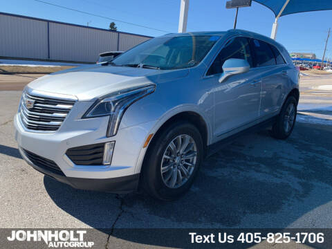 2018 Cadillac XT5 for sale at JOHN HOLT AUTO GROUP, INC. in Chickasha OK