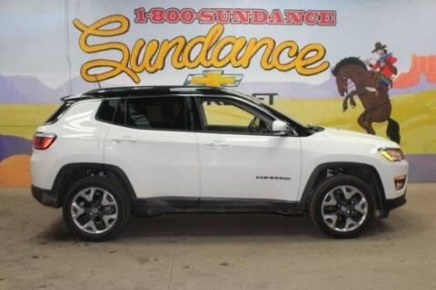 2018 Jeep Compass for sale at Sundance Chevrolet in Grand Ledge MI