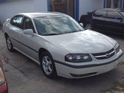 2003 Chevrolet Impala for sale at Sindic Motors in Waukesha WI