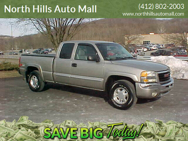2003 GMC Sierra 1500 for sale at North Hills Auto Mall in Pittsburgh PA