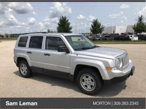 2011 Jeep Patriot for sale at Sam Leman CDJRF Morton in Morton IL