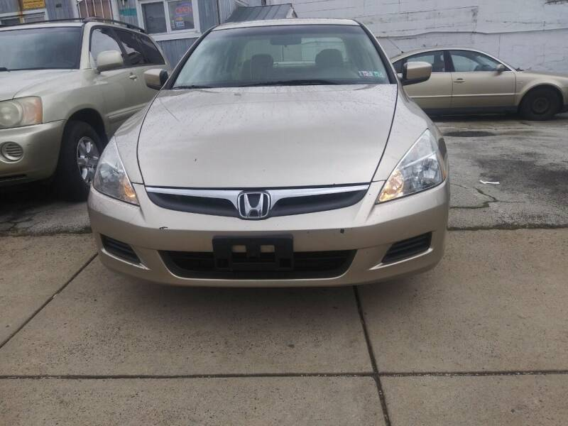 2007 Honda Accord for sale at K J AUTO SALES in Philadelphia PA