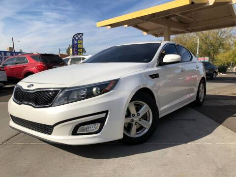 2014 Kia Optima for sale at DR Auto Sales in Glendale AZ