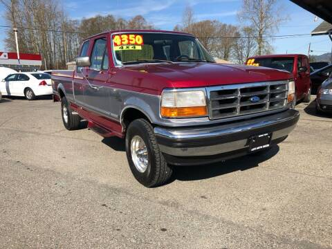 1995 Ford F-150 for sale at Low Auto Sales in Sedro Woolley WA