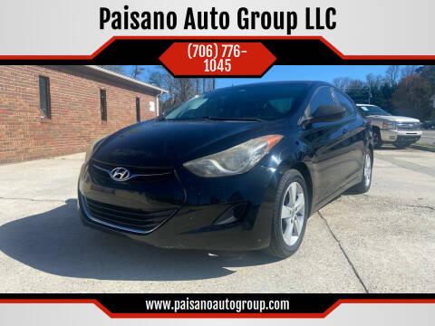 2011 Hyundai Elantra for sale at Paisano Auto Group LLC in Cornelia GA