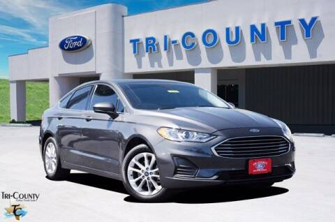 2019 Ford Fusion for sale at TRI-COUNTY FORD in Mabank TX