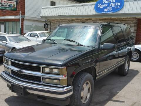 1999 Chevrolet Tahoe for sale at North Knox Auto LLC in Knoxville TN