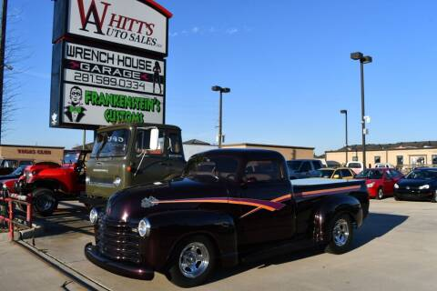 1948 Chevrolet 3100 for sale at WHITT'S AUTO SALES, LLC in Houston TX