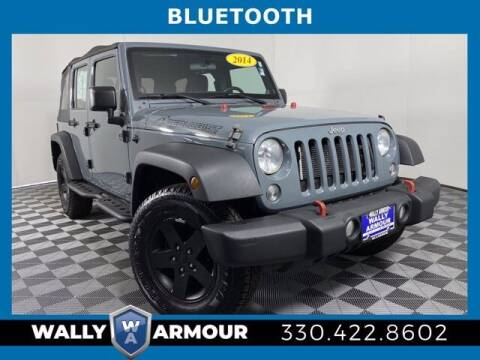 2014 Jeep Wrangler Unlimited for sale at Wally Armour Chrysler Dodge Jeep Ram in Alliance OH