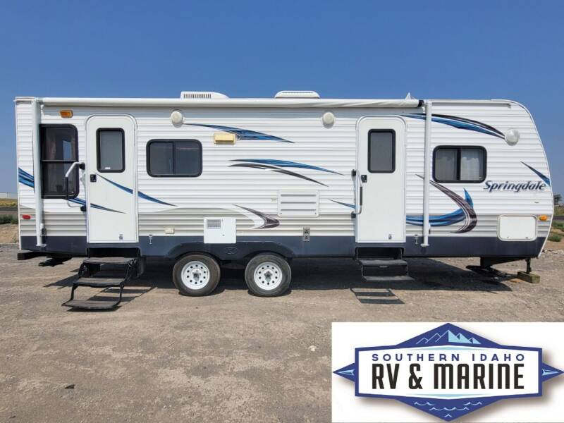 2012 KEYSTONE SPRINGDALE 257RLLS for sale at SOUTHERN IDAHO RV AND MARINE - Used Trailers in Jerome ID