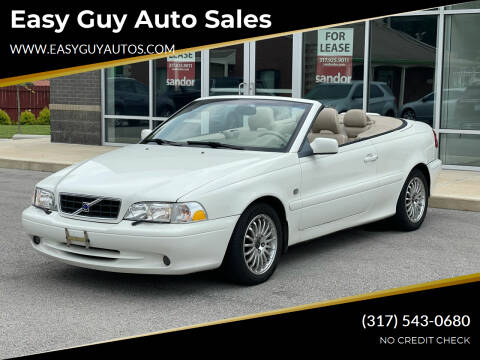2003 Volvo C70 for sale at Easy Guy Auto Sales in Indianapolis IN