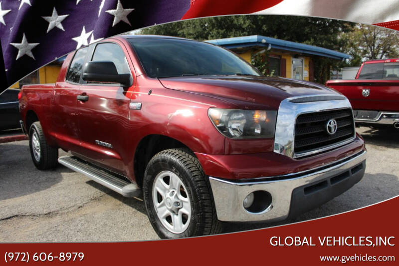 2008 Toyota Tundra for sale at Global Vehicles,Inc in Irving TX