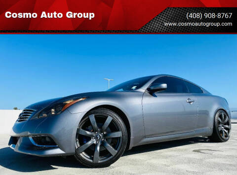 2010 Infiniti G37 Coupe for sale at Cosmo Auto Group in San Jose CA