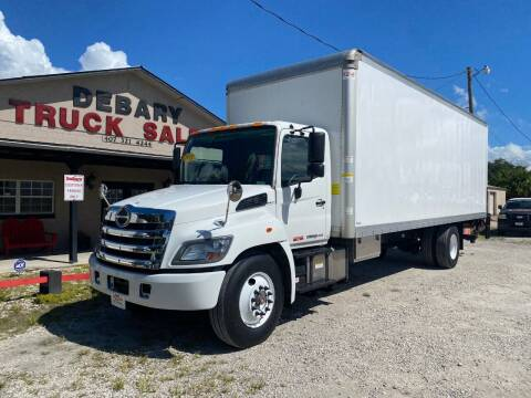 2018 Hino 268 for sale at DEBARY TRUCK SALES in Sanford FL