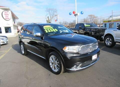 2014 Dodge Durango for sale at Auto Land Inc in Crest Hill IL