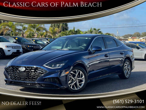 2020 Hyundai Sonata for sale at Classic Cars of Palm Beach in Jupiter FL