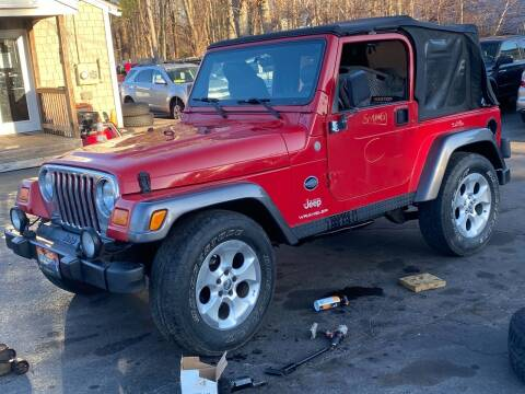 2004 Jeep Wrangler for sale at Irving Auto Sales in Whitman MA