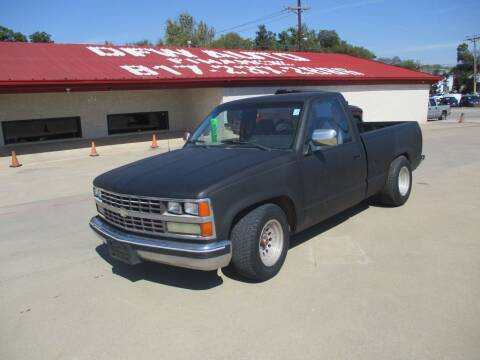 1989 Chevrolet C/K 1500 Series for sale at DFW Auto Leader in Lake Worth TX
