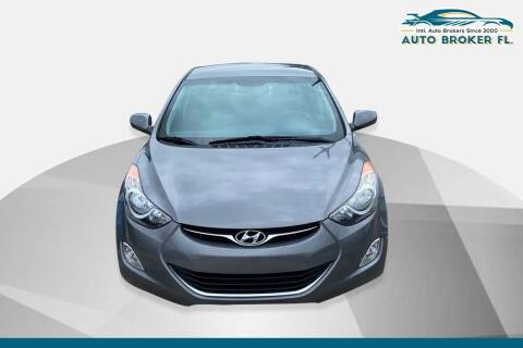 2013 Hyundai Elantra for sale at INTERNATIONAL AUTO BROKERS INC in Hollywood FL