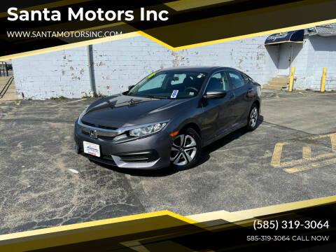 2018 Honda Civic for sale at Santa Motors Inc in Rochester NY