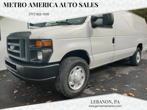 2014 Ford E-Series Cargo for sale at METRO AMERICA AUTO SALES of Lebanon in Lebanon PA
